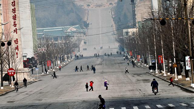 Phenjani utcakép