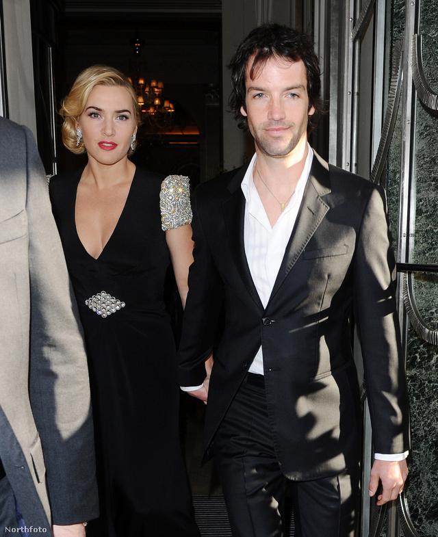 Winslet és férje, még márciusban