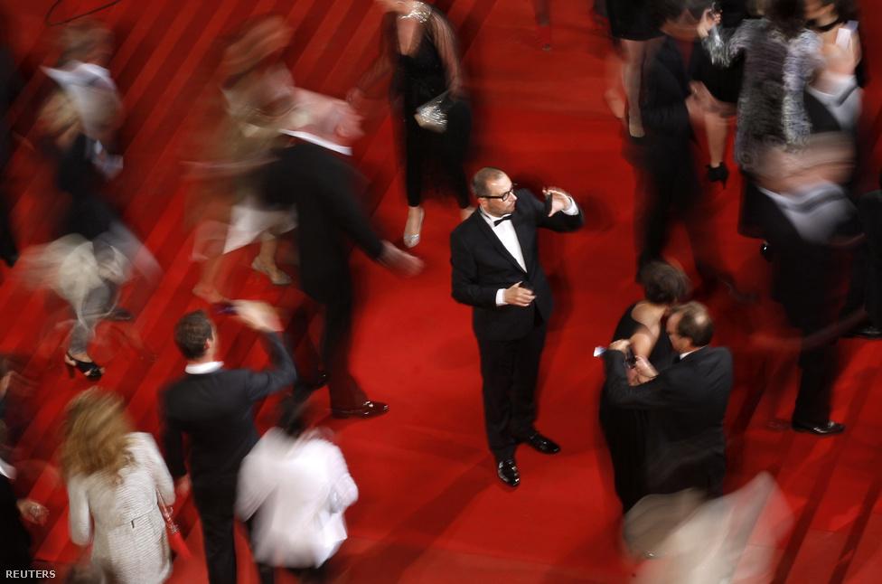 Zajlik az élet 65. Cannes-i Filmfesztivál vörösszőnyegén.