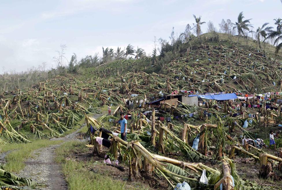 A Bopha szupertájfun miatt több mint 41 ezer ember kényszerült elhagyni otthonát az alacsonyabban fekvő tengerparti területeken és a nagyobb folyók mentén a Fülöp-szigeteken
