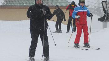 Lukasenka és Putyin egy napja Szocsiban