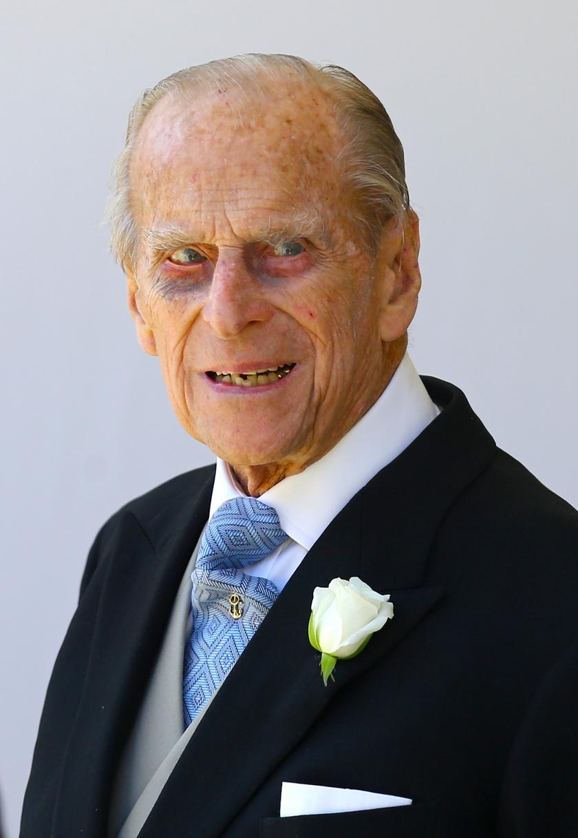 Fülöp herceg a múlt héten került kórházba.