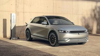 Itt a Hyundai első tisztán elektromos autója