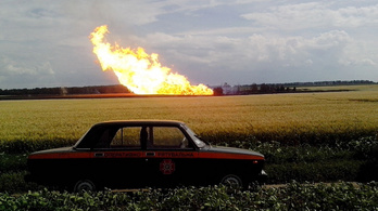 Robbanás történt egy orosz gázvezetéknél