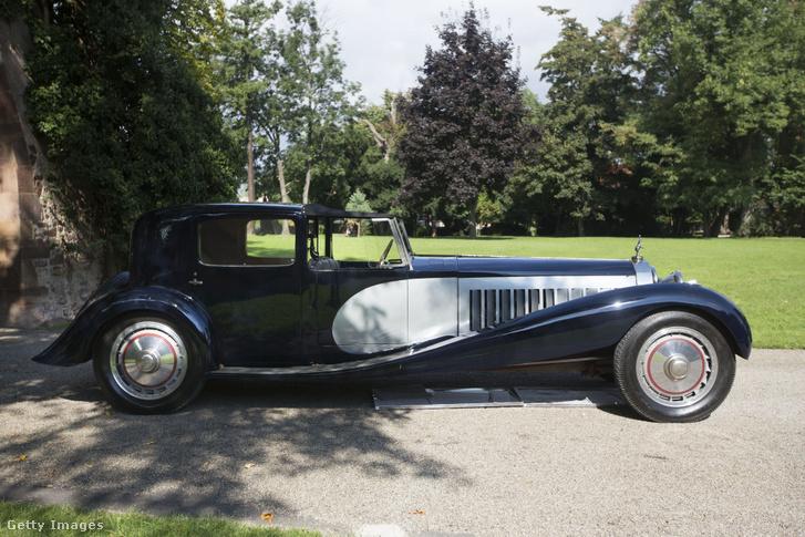 Az 1930-as Bugatti Royale, a világ legritkább autója.