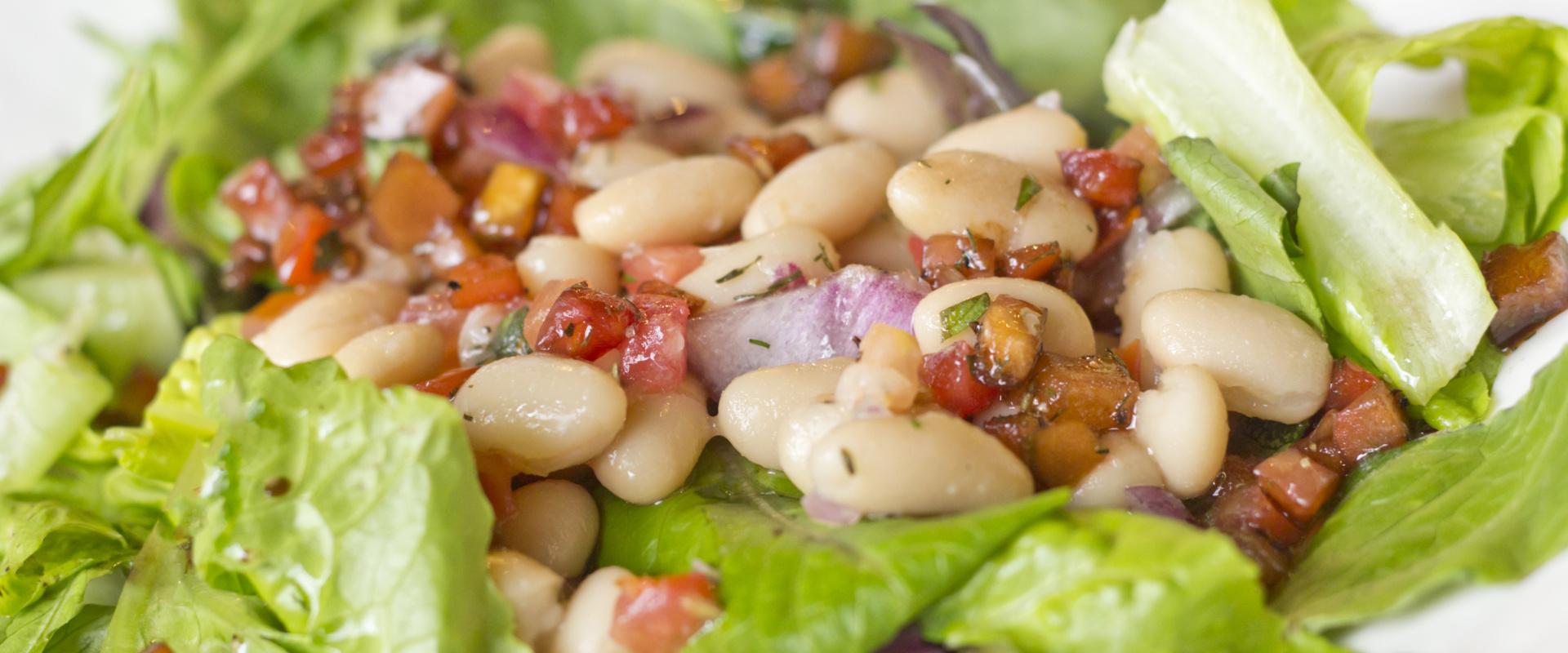 fehérbab saláta cover