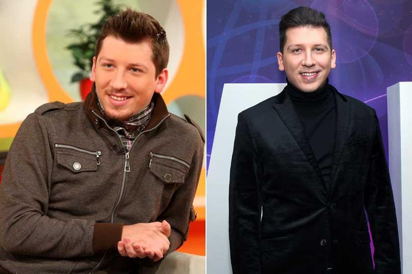 Vastag Tamás 2011 őszén az RTL Klub Reggelijében és A Dal 2018-as évadában.