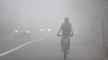 Esti köd szomorítja a korai tavaszt
