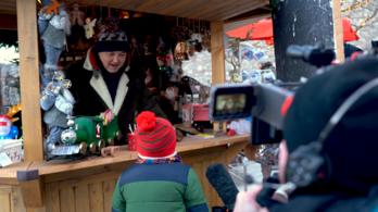 A kulisszák mögött: forog az első magyar karácsonyi film