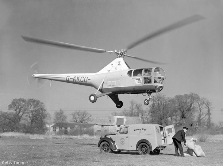 Az első helikopterek egyike 1948-ból