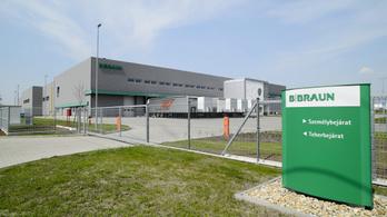 Sztrájk a B. Braun Medical gyöngyösi gyárában