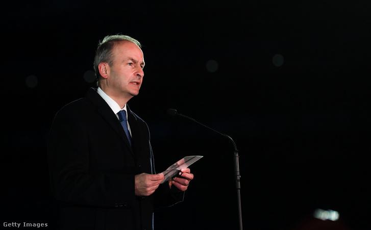Micheál Martin ír miniszterelnök.