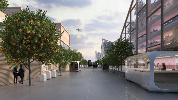 Építészeti vizualizáció: Squint/Opera, a Brick Visuallal együttműködésben