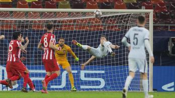 Giroud győztes gólt ollózott, a Bayern gálát rendezett Rómában