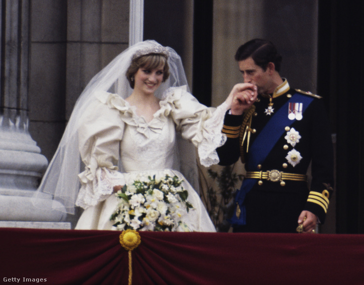 Lady Diana és Károly herceg esküvője 1981. július 29-én