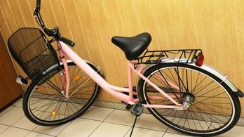 Rózsaszín biciklin érte utol a végzet a debreceni tolvajt