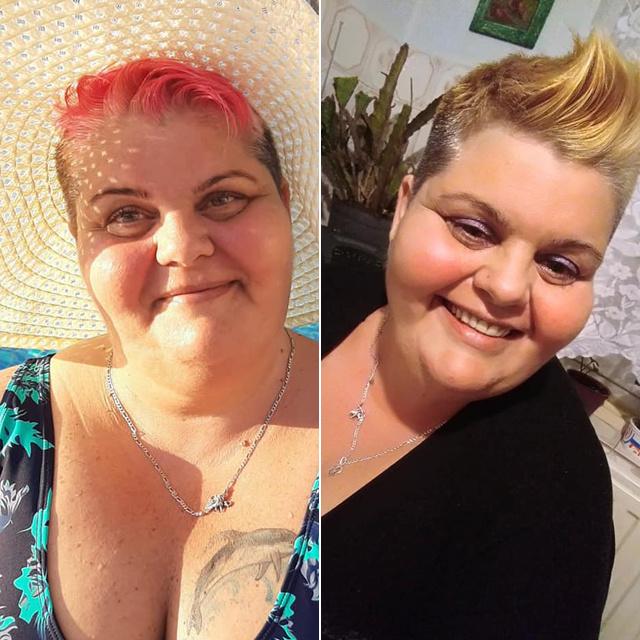 50 kilót fogyott másfél év alatt Angéla: elképesztő kitartással megy célja felé