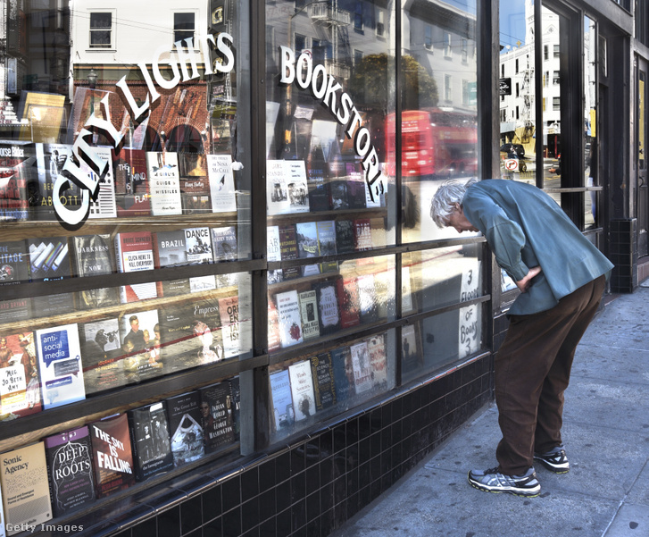 A City Lights könyvesbolt San Franciscóban