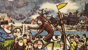 Felakasztottak egy kémkedéssel vádolt majmot egy angol kisvárosban: legenda vagy valóság?