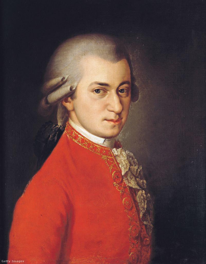 A legismertebb Mozart-ábrázolást Barbara Krafft festette 1819-ben, mintegy harminc évvel a zeneszerző halála után. A megrendelő egy bizonyos Joseph Sonnleithner volt, aki különböző zeneszerzők portrésorozatát szerette volna elkészíttetni. A posztumusz ábrázolás egy családi kép alapján készült.