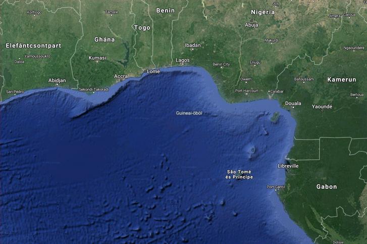 A Guineai-öböl és térsége