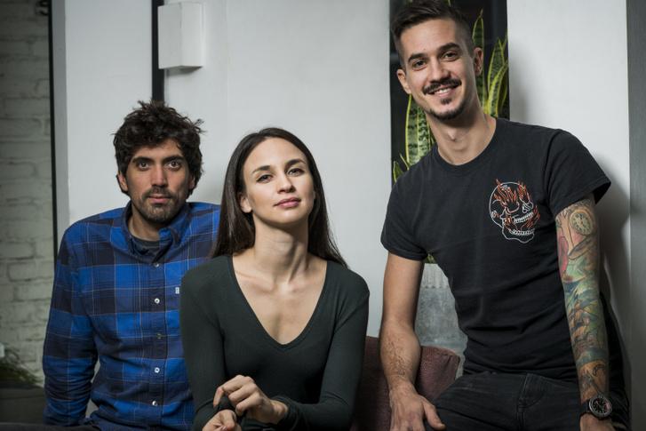 Trellay Levente, Törőcsik Franciska és Farkas Richárd