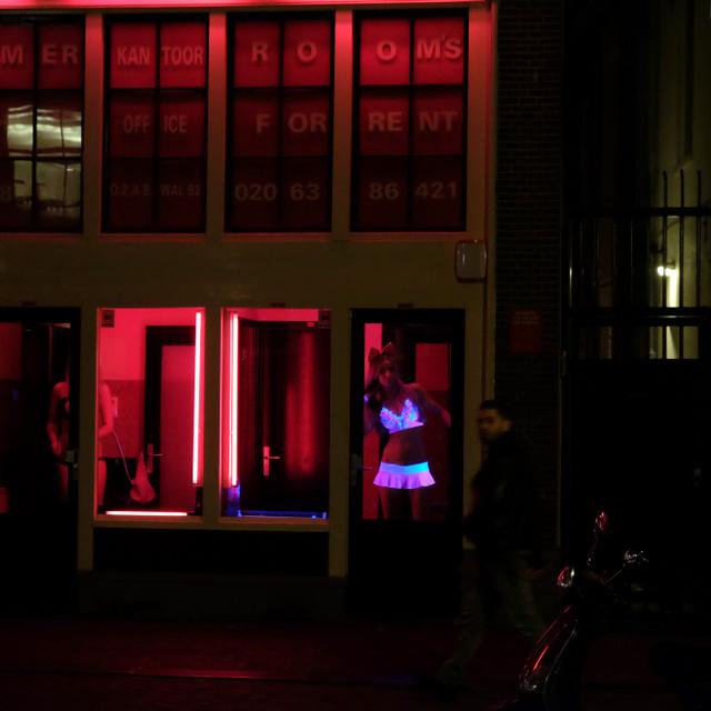 Így néz ki Amszterdam hírhedt vörös lámpás negyede: De Wallen máig az egyik legfőbb turistaattrakció