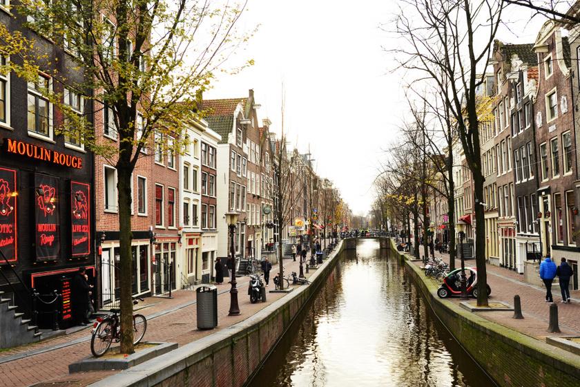 De Wallen Amszterdam egyik legrégebbi, központi része. A kikötő közelsége miatt ez a környék évszázadok óta a prostitúció célpontjának számított. A középkorban már korlátozták, hogy ki léphetett be a területre, a papokat és a házas férfiakat kitiltották. A történelem folyamán a tevékenység megítélése, szabályozása hullámzó volt.