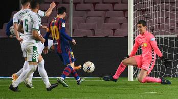Messi duplázott, a Barca simán hozta a halasztott meccsét