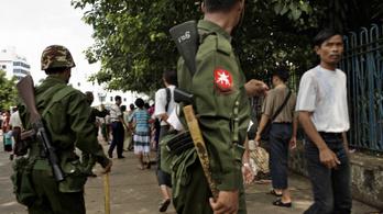 A Facebook és az Instagram törölte a mianmari hadsereg profiljait