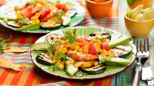 Cukkininachos – egyik mexikói kedvencünk egészséges változatban