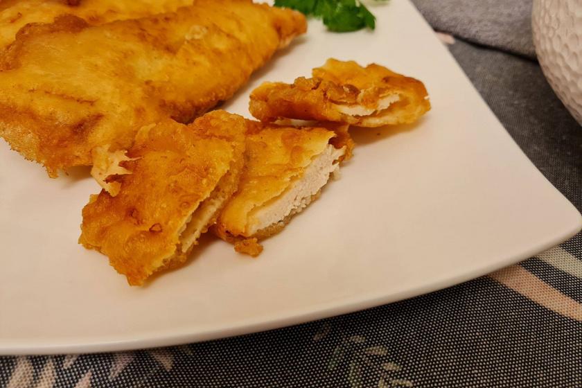 Csirkemell sörtésztában sütve: ezekre figyelj, hogy tökéletes legyen a bunda