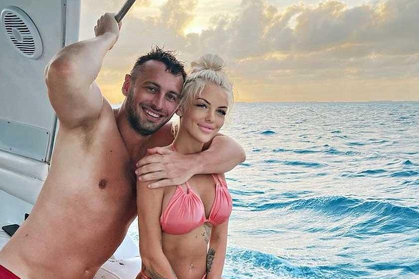 Szegedi Fecsó új párja bombázó bikiniben - A 13 évvel fiatalabb Bea modell