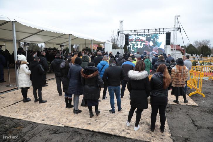 Nagy Grófo temetése 2020. december 19-én