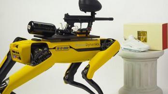 Terminátorrá változott a robotkutya