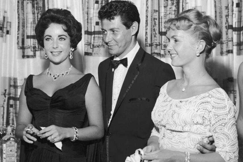 Elizabeth Taylor, Eddie Fisher és Debbie Reynolds 1958-ban.
