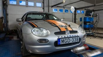 Totalcar Erőmérő MG MGF 1,8 – 2000.