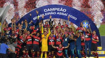 A Flamengo nyerte a brazil futballbajnokságot