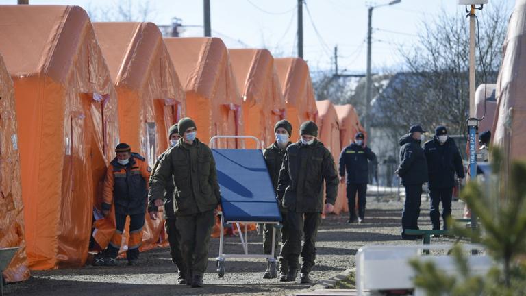 Ukrajnában sem hátrál a koronavírus