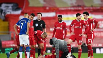 Több mint egy hónapra kidőlt a Liverpool csapatkapitánya