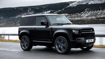 Az új Land Rover Defenderből is lett nyolchengeres