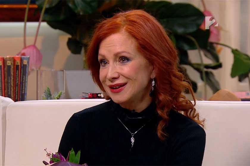 Détár Enikő nagyon dögös 57 évesen - A Mokka műsorvezetője is ámult külsején