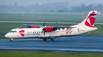Bajban a CSA cseh légitársaság