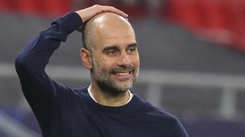 Guardiola Man. Cityje most érhet fel a csúcsra