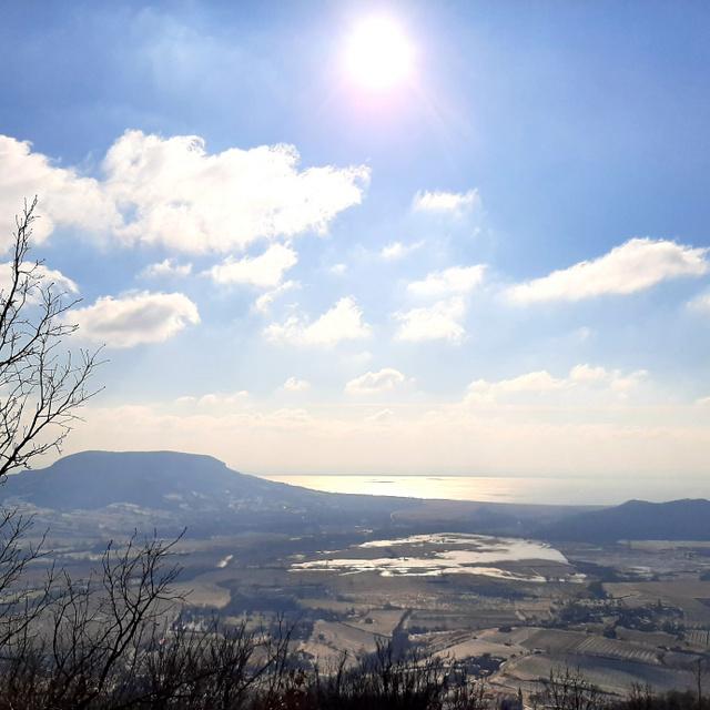 Megmásztuk a Balaton-felvidék ékét, lélegzetelállító látvány tárult elénk: a Szent György-hegy a Kéktúra része