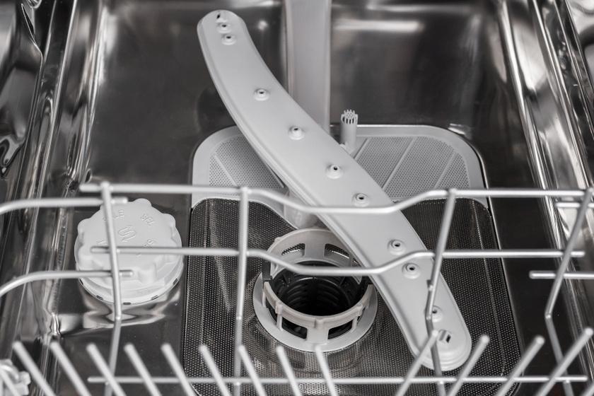 mosogatógép belseje belső