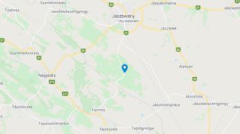 Halálos baleset Jászberénynél: autóval ütközött a motoros
