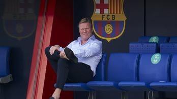 Eldőlt Ronald Koeman sorsa a Barcelonánál