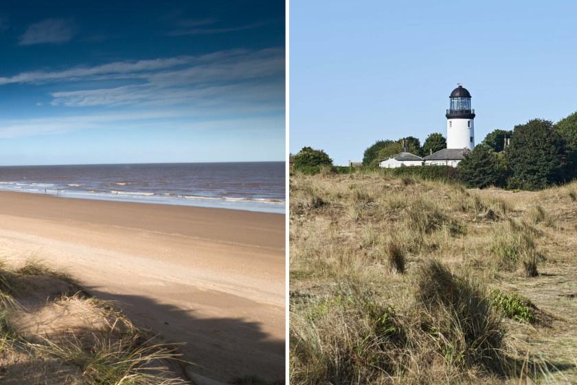 Vitathatatlan, hogy Norfolk mesés: a végtelen tájban fehérlő világítótoronyból bizonyosan csodás kilátás nyílik a tengerpartra.