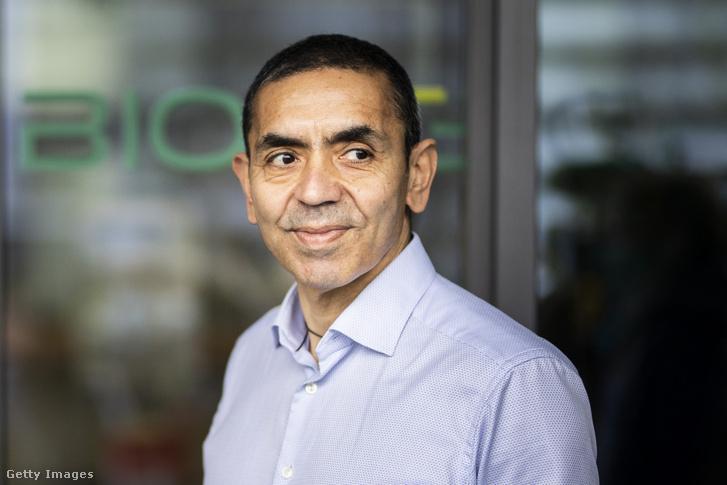 Ugur Sahin, a BioNTech vezérigazgatója.